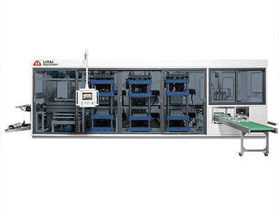 TTF-400AF Full Automatic Four-Station Plastic Thermoforming Machine