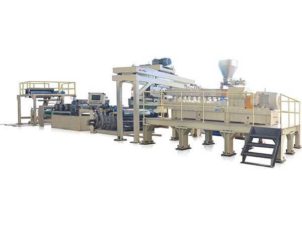 TJ - 950 PET Sheet Extruder