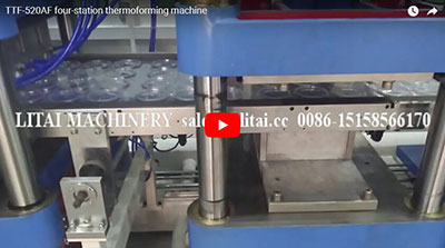 TTF-520AF four-station thermoforming machine